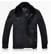 Winter winter cotton padded jacket duty security overalls thickened cold proof jacket coat