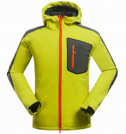 New men's outdoor mountaineering and leisure sports clothing complex soft shell jacket jacket jacket jacket