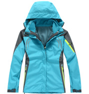 Outdoor mountaineering camping leisure sports ski rush clothes 2 and 1 jacket wholesale price