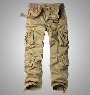 For cross-border baggy pants big baggy overalls code men's trousers outdoor sports casual pants Magee 3357
