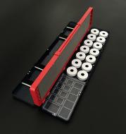 Fishing float box 51cm three layer multi-function polycarbon float box line box line box manufacturer direct selling