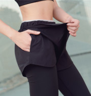Cross border new two pieces of sidepocket sports pants