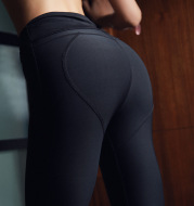 Peach, buttocks, yoga suit, fitness, exercise tight pants, running speed trousers and European and American force