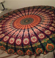 Printed Round Beach Towels And Yoga Mat