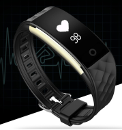 Cross border bursting S2 heart rate health monitoring Bluetooth sports meter step wearable information remind waterproof intelligent hand ring factory