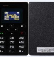 Die Heißesten Mini Telefon AEKU M5 Mit Englisch/Russische Tastatur PK AIEK M5 Zelle pone Ultradünne Handy