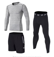 Sport Workout Tight Suits Long Sleeve Shirts and Pants