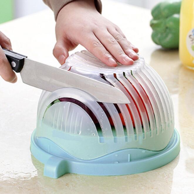 Je Eigen verse Salade Mix snijden in een paar seconden met deze handige keuken tool