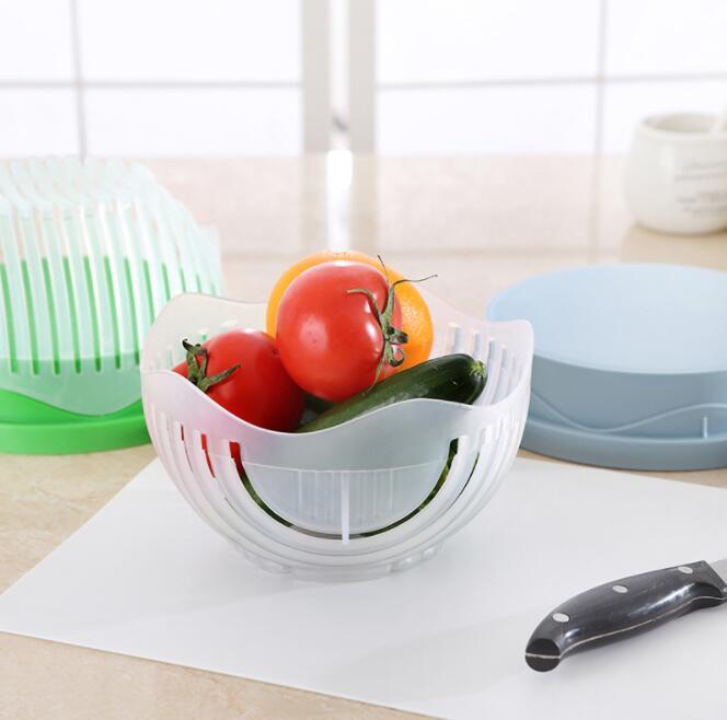Je Eigen verse Salade Mix snijden? deze handige keuken tool? leg hier al je verse groentes of fruit in en snijden maar