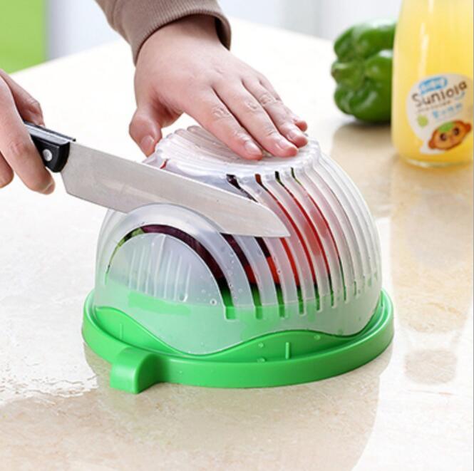 Salade Mix snijden grote en kleine Salade keuken tool snijder