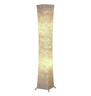 """52"""" Floor lamp  Fabric Shade Simple Slim atmosphere 2 bulbs included"""
