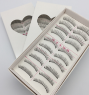 Taiwan handmade 217 cotton thread stalk false eyelashes