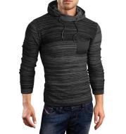 Pullover O-Neck Knit Hoodies For Men