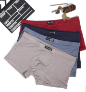 The 4 men's underwear box modal cotton breathable shorts four youth movement on behalf of a head angle