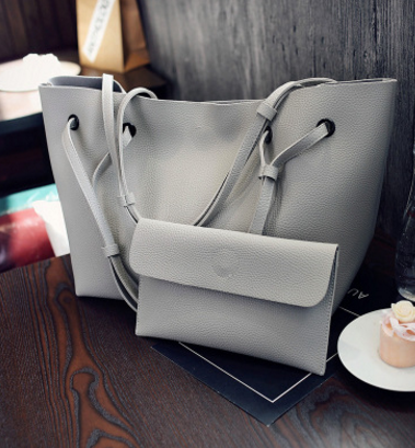 Fashion Shoulder Tote Bag Two Piece Crossbody Bag allinonehere.com