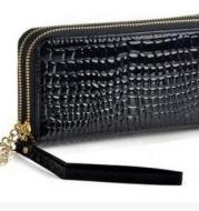 2020 High Quality Black Purse Women Leather Purses Wallets