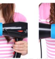 original design windspin curl hair diffuser