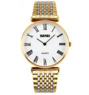 American watch men's business super slim belt Watch