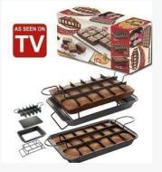 ERFECT BROWNIE PAN SET Kitchen Baking Cake