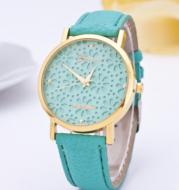 Geneva Flower Wrist Watch