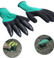 Garden flower gloves