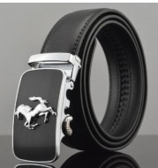 Men Automatic Buckle Leather Belts