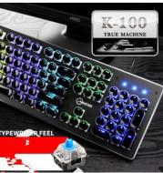 Steampunk Retro Keyboard