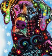 """Алмаз живопись полный квадратный животного вышивки крестом """"Лабрадор"""" 3D DIAMOND Вышивка головоломки живопись горный хрусталь мозаичный декор стен"""