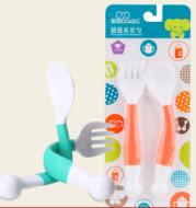 Baby Training Bendable Tableware Fork