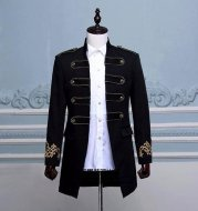 Vintage 15th Century Inspired Military Blazer