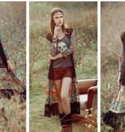 Bohemian Style Kimono W/ Tassel