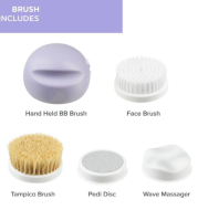 2021 new arrival bb brush 4 in 1 hand home spa bb peeling brush cleaning massage tampico as seen on tv