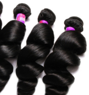 wig loose wave real hair curtain wholesale foreign trade