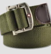 Outdoor leisure canvas belt