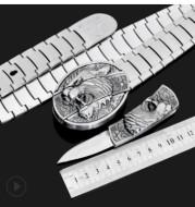 Metal stainless steel belt
