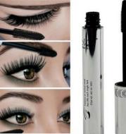 Long Curling Eyelash Extension Black Fiber Mascara Eye Lashes Makeup