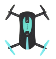 JY018 wifi fixed aerial black bee drone