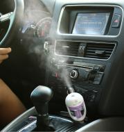 Car Humidifier Air Purifier Freshener Essential Oil Diffuser