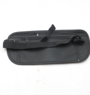 Zippered Waist Security Pouch With Coolmax Fabric