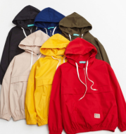 Women Cotton Light Weight Hoodie With Draw String
