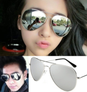 Sunglasses men and women tide 2020, toad mirror, female face, driving personality, avant-garde driver, mirror, color film, sunglasses, long face.