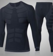Sports tights and leggings suit the new leisure breathable running long-sleeve outdoor training suit for autumn and winter