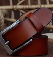 Leather men's soil simple and wild in the light father belt large size pants belt long belt men fat size 150cm