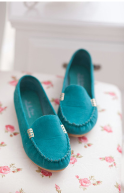 green color Spring Summer Shoes