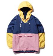 MCCKLE Men's Hooded Jackets Hip Hop Outwear Windbreaker Jacket Cargo Casual 2020 Spring Unisex patchwork Coat Jackets