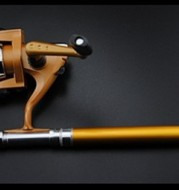 Pen pole suit Mini Mini spinning wheel fishing rod telescopicshort fishing rod