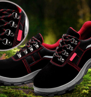 Anti-piercing and piercing safety shoes