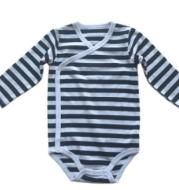 Stripe Cotton Baby Romper