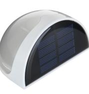 Solar wall lamp semi-circle LED solar wall lamp fence lamp solar energy semi-circle light control wall