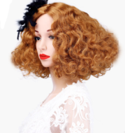 JYA model Wig Prop woman GIA WIG head mold hair set, Japan and South Korea special model wig series